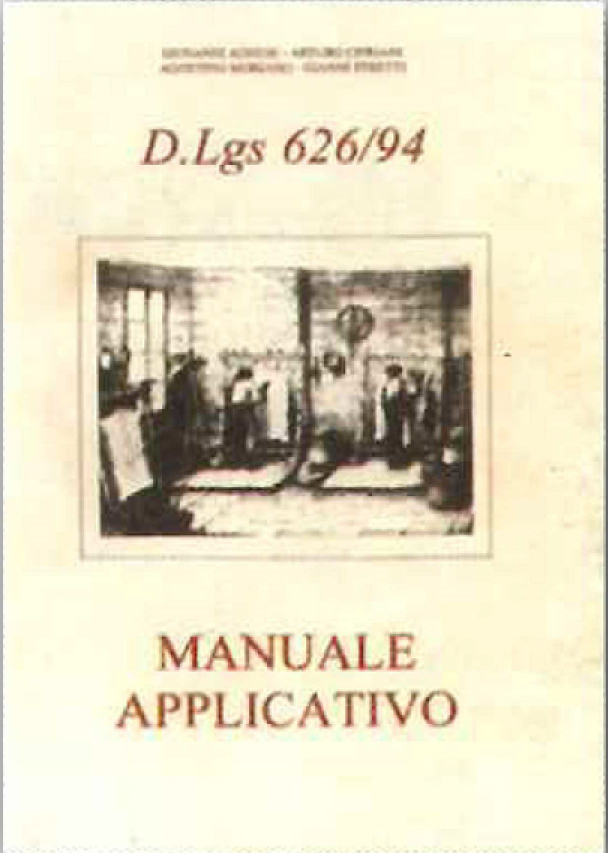 D.Lgs. 626/94 - Manuale applicativo